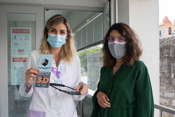 CeNTI-CeNTI oferece viseiras a instituição de Vila Nova de Famalicão